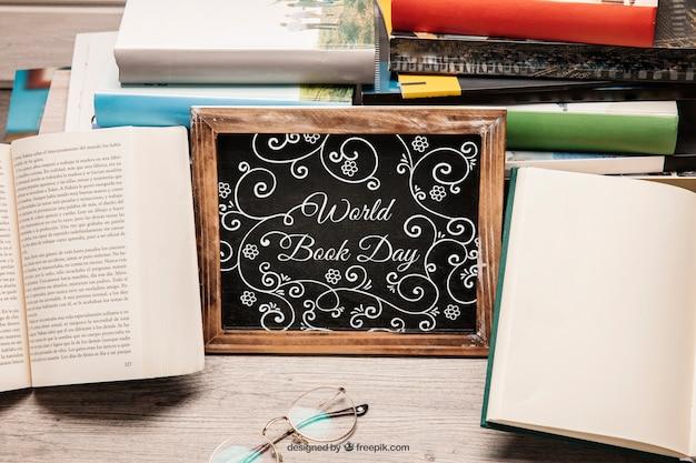 Kreative literaturnachbildung mit schiefer