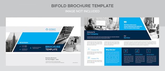 Kreative unternehmens-bifold-broschüre