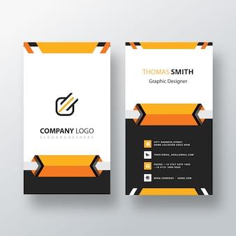 Kreative vertikale visitenkarte