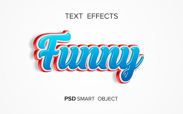 Kreativer fetter texteffekt Kostenlosen PSD