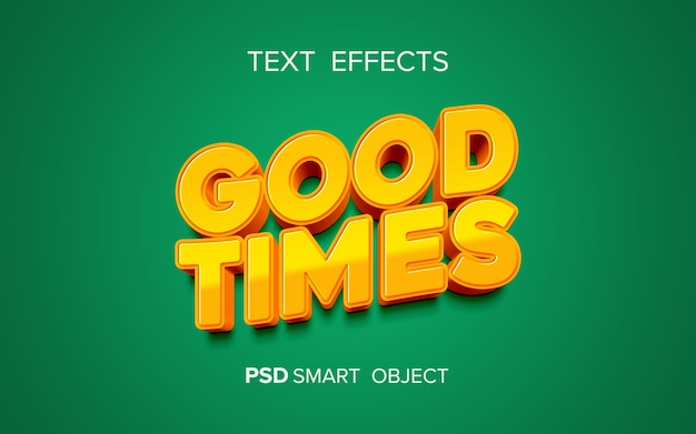Kreativer fetter texteffekt