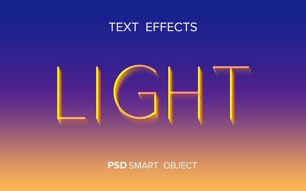 Kreativer verschwindender texteffekt