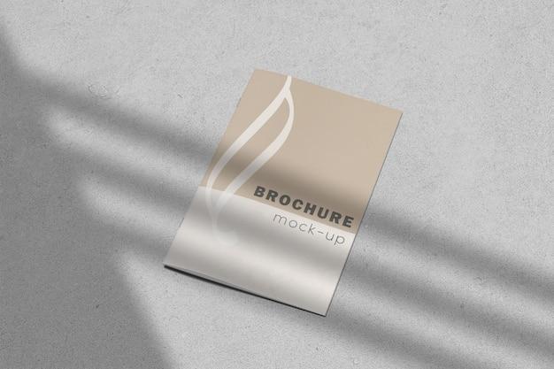 Kreatives broschürenmodell