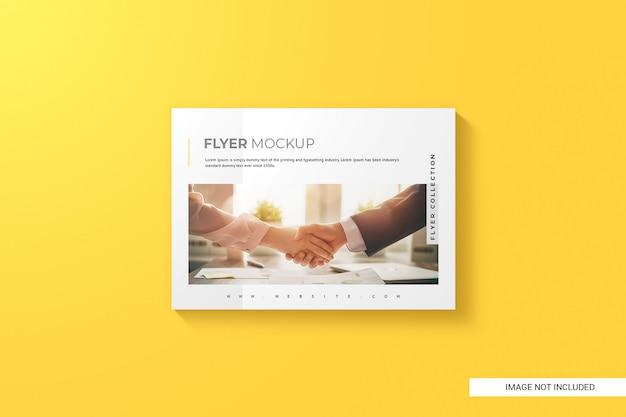 Kreatives flyer-modell