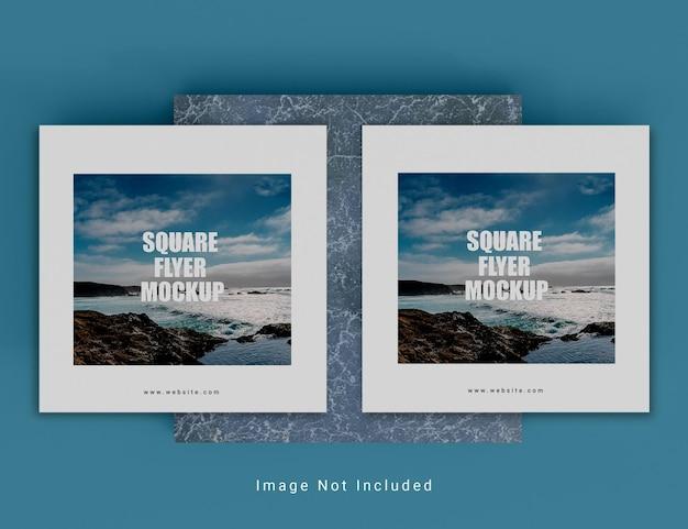 Kreatives quadratisches broschürenmodell psd