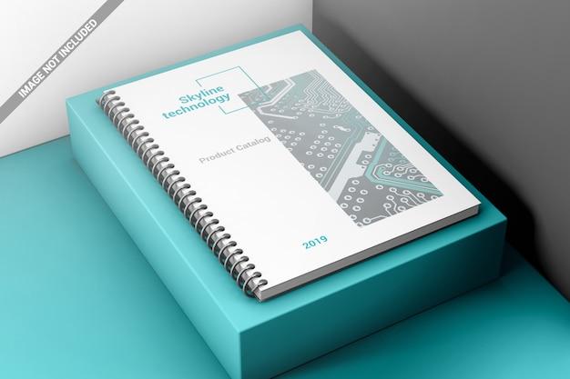 Kreatives spiralbuch-bindungsmodell