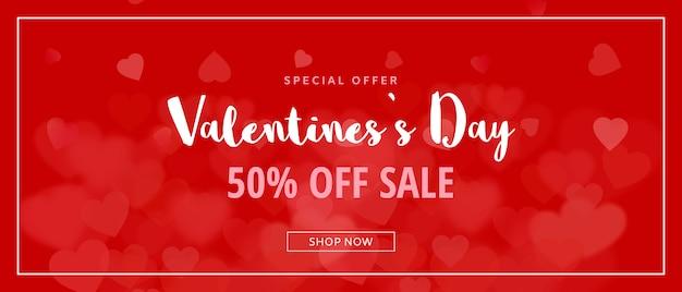 Kreatives valentinsgrußverkaufsmodell