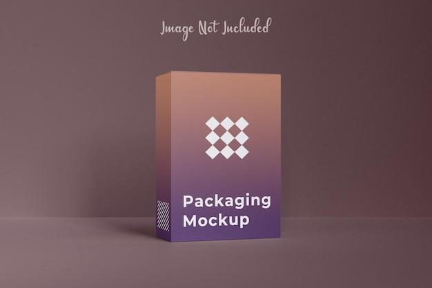 Kreatives verpackungsbox-mockup