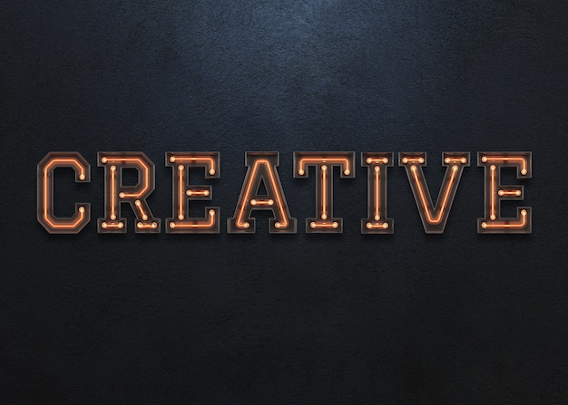 Kreatives wort
