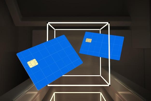 Kreditkarte neon