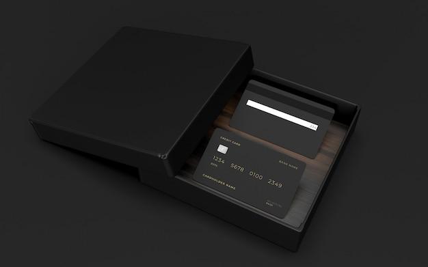 Kreditkarten-design-modell