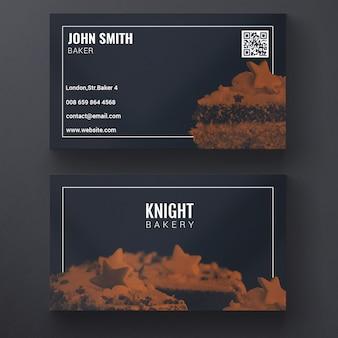 Kuchen-visitenkarte