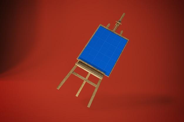 Kunst leinwand im studio