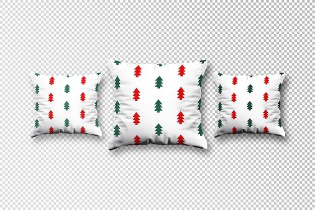 Kuscheliges kissen stoff weihnachtsmodell