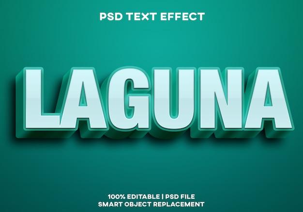 Laguna-texteffekt