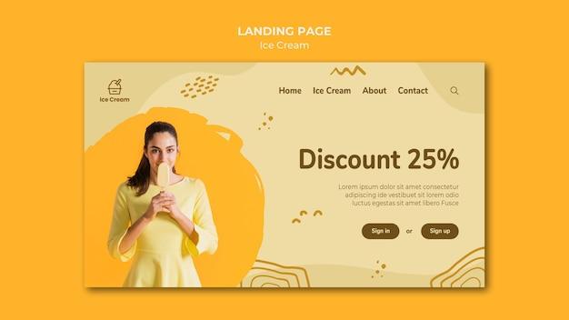 Landing page eis vorlage