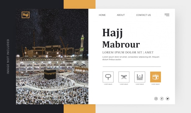 Landing page hadsch mabrour