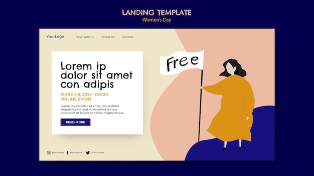 Landingpage zum frauentag