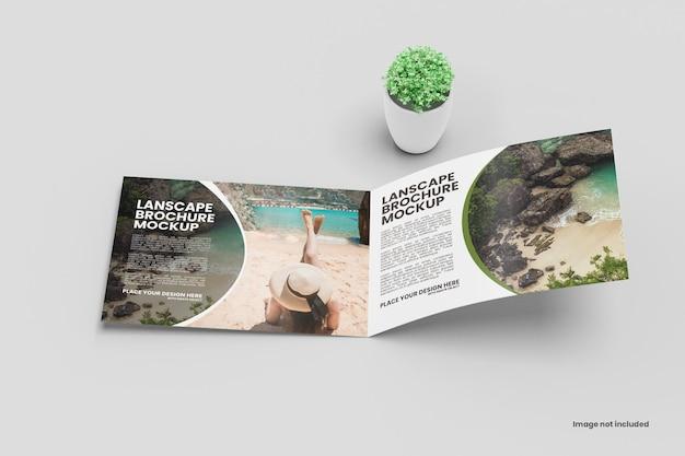 Landschaftsbroschürenmodell Premium PSD