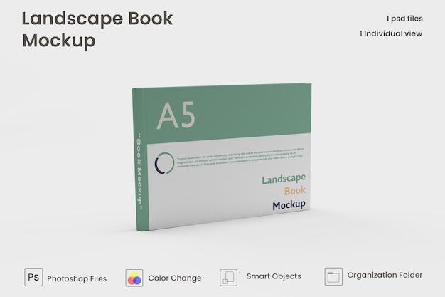 Landschaftsbuch premium psd