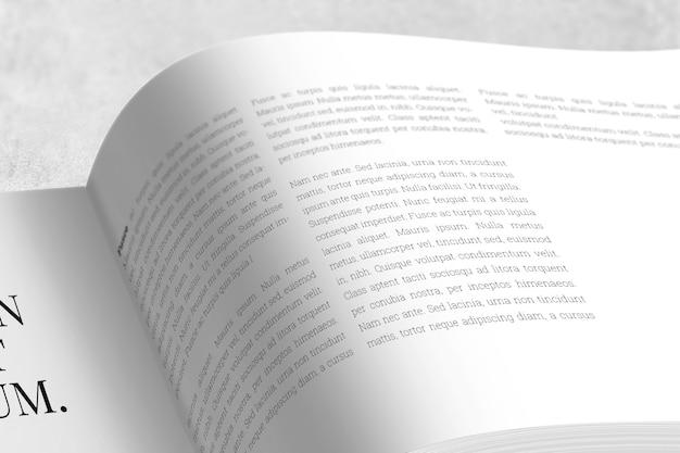 Landschaftsmagazin oder broschürenmodell Premium PSD