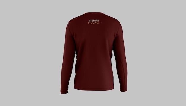 Langarm-t-shirt mockup