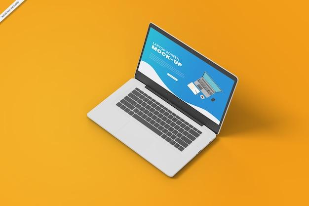 Laptop-bildschirm modell