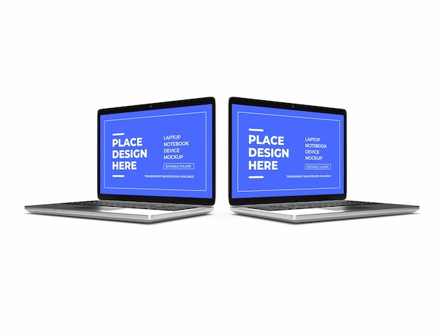 Laptop-gerätemodell