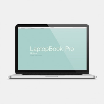 Laptop mock-up-design