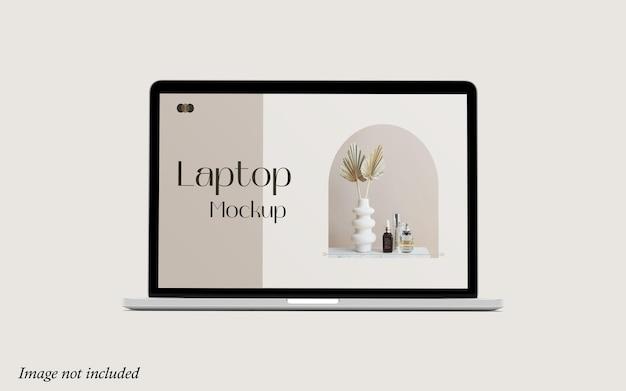 Laptop mockup premium psd