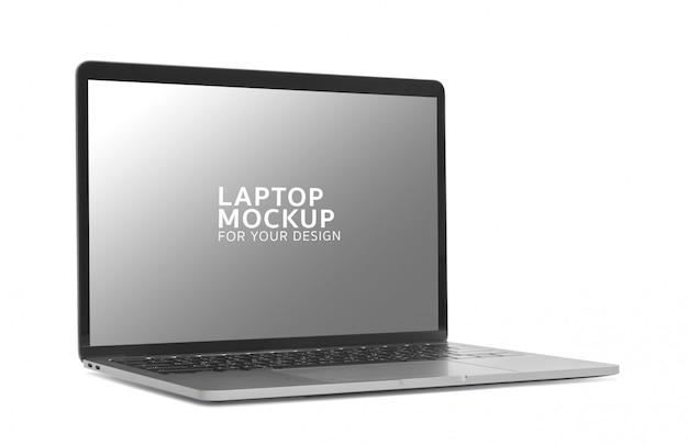 Laptop-modelldesign des digitalen geräts.