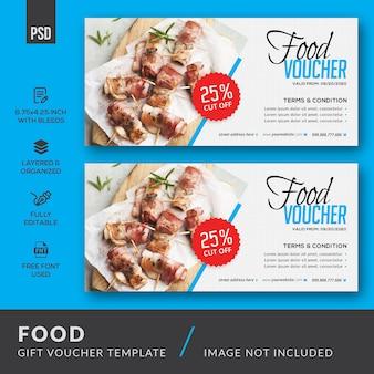 Lebensmittel-geschenkgutschein-vorlage