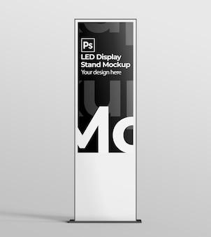 Led-display-ständer-modell für branding- und werbepräsentationen