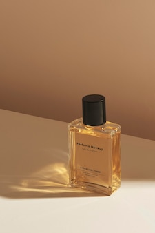 Leeres parfümglasflaschenmodell-design