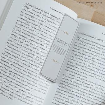 Lesezeichen design bearbeitbare ebenen