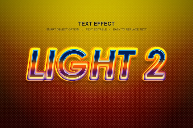 Lichteffekt-ebenenstil