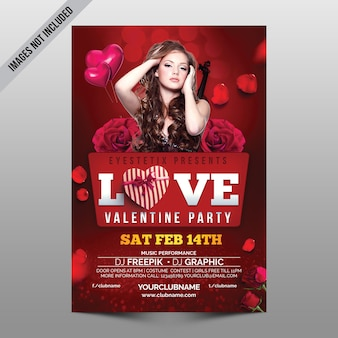 Liebe valentine party