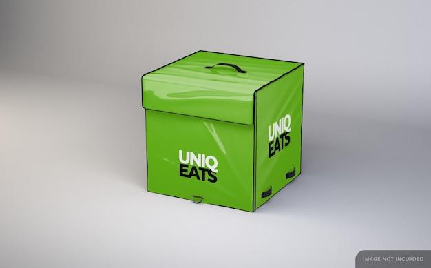 Lieferung food bag mockup