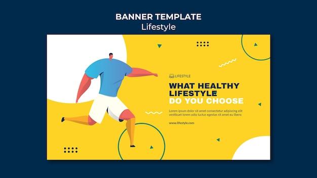 Lifestyle-banner-vorlage
