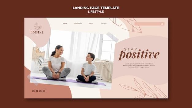 Lifestyle-landingpage