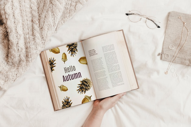 Literatur und herbstmodell