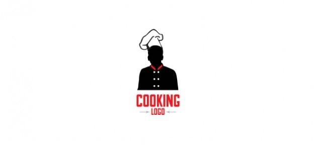 Logo design template zum kochen