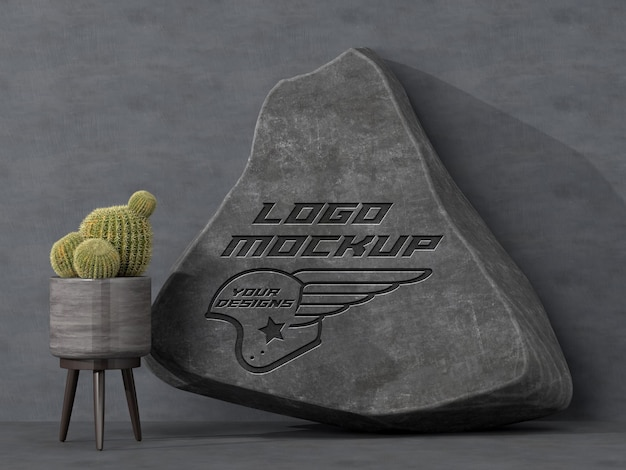 Logo mockup branding corporate identity werbung