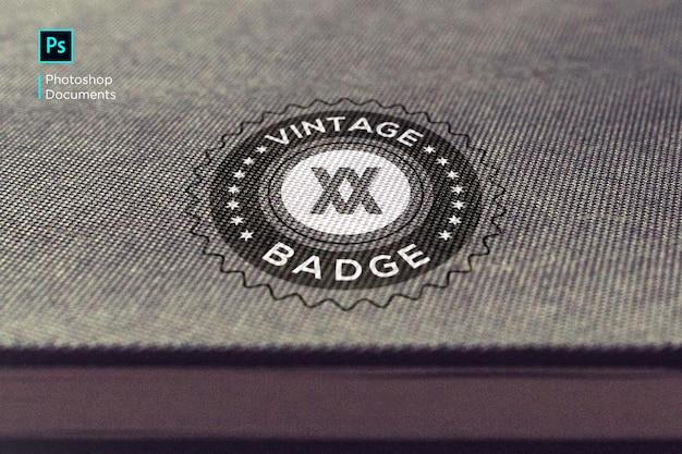 Logo mockup design vorlage