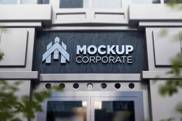 Logo-mockup-mit--silber-effekt