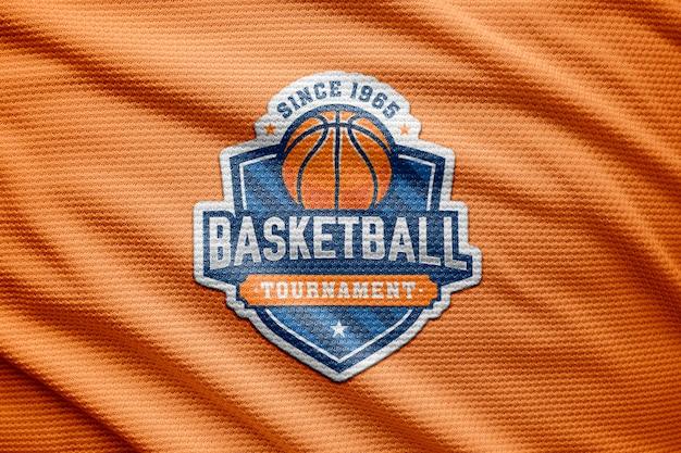 Logo mockup sporttrikot