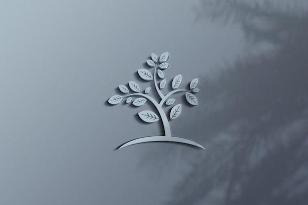 Logo-modelldesign für unternehmen