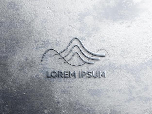 Logomodell mit textur