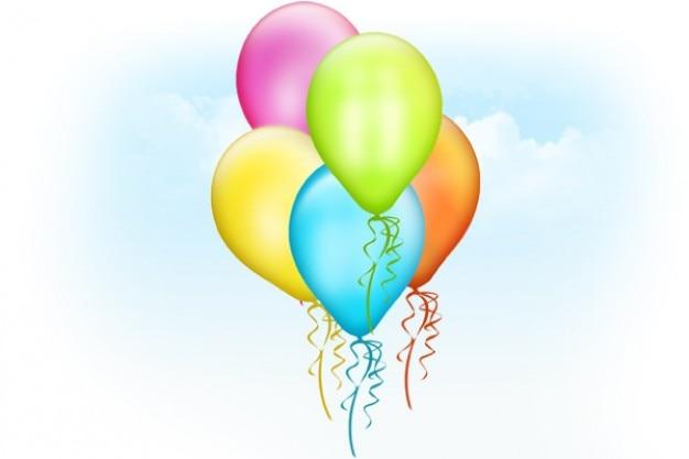 Luftballons psd vorlage