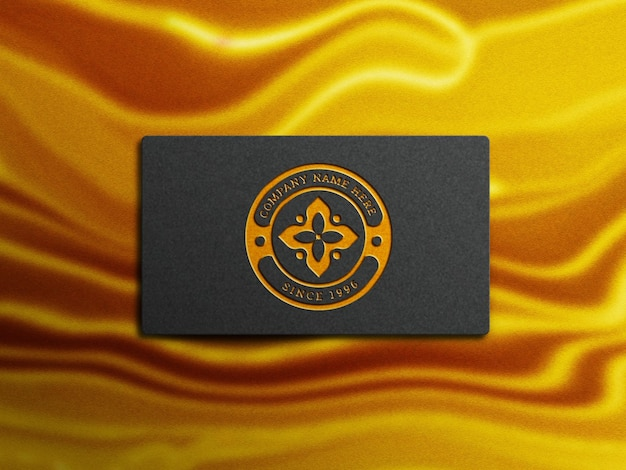Luxuriöses logo-modell
